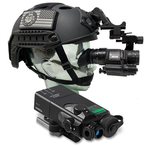 AN/PVS-14A White Phosphor Photonis Echo On Target Kit w/ OTAL-C Laser