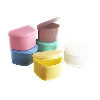 Plastic denture boxes