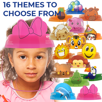 Kids Face Shields, 16 Styles Available