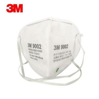 Genuine 3M KN90 9002 3D Masks 10/Pk