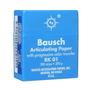 """Bausch .008"""" (200 microns) BLUE Articulating Paper Strips, 300/Box BK-01"""