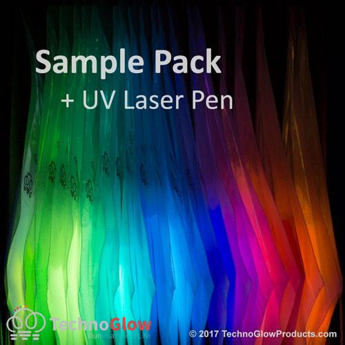 glow powder samples