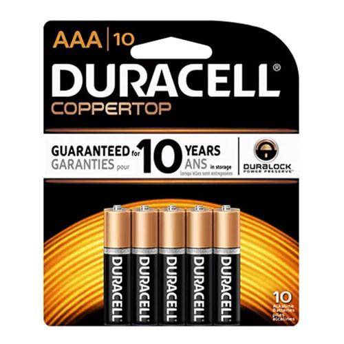duracell coppertop aaa battery alkaline