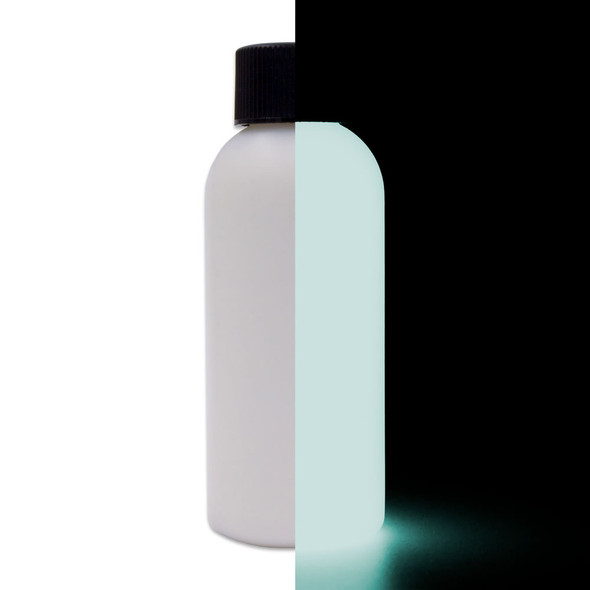white glow paint