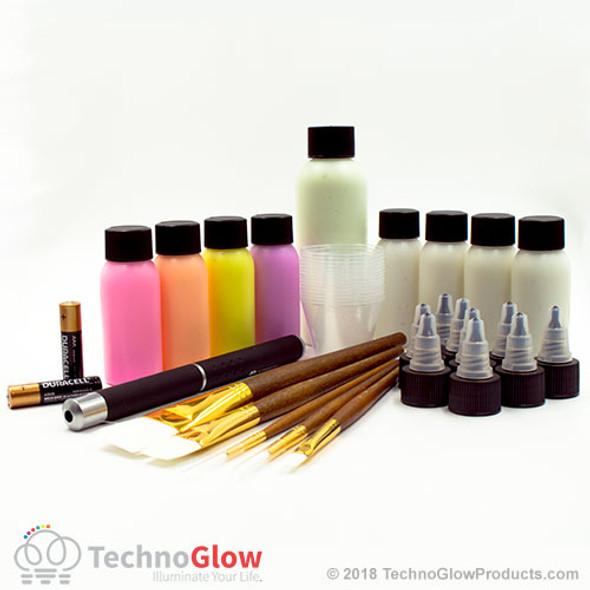 deluxe glow paint kit