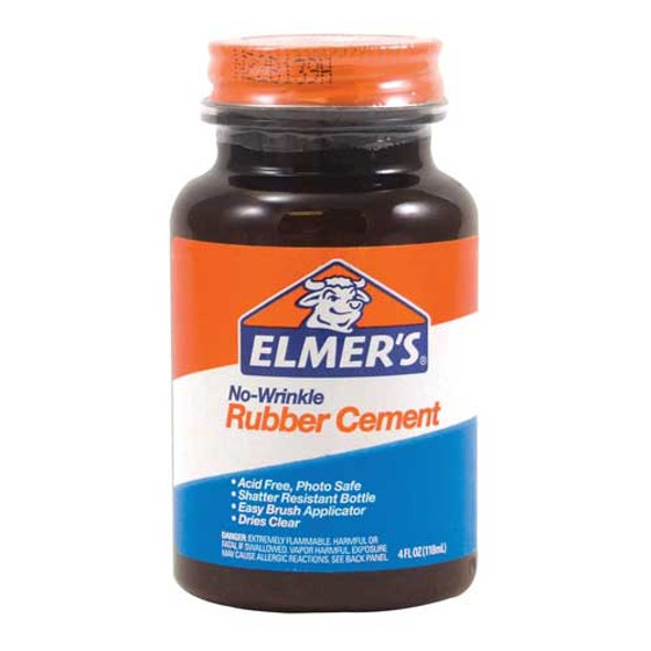 elmers rubber cement