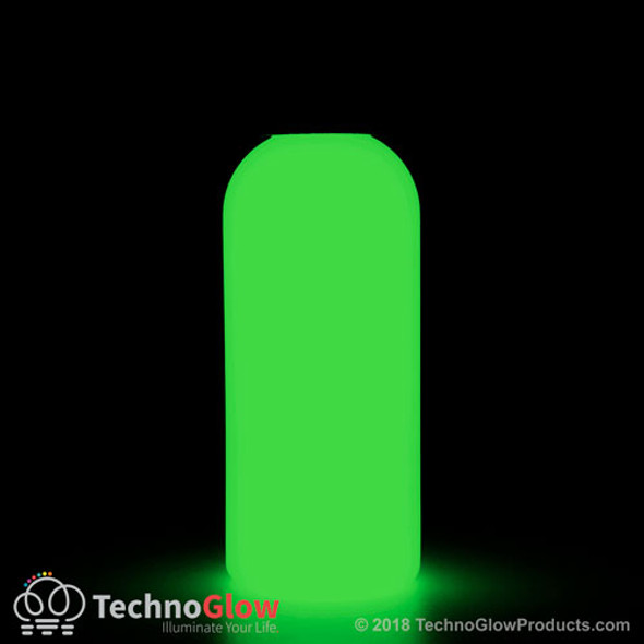 green photo luminescent paint
