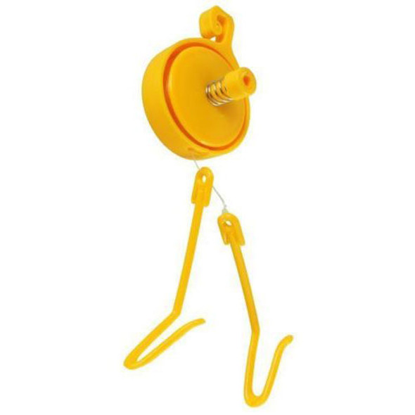 Retractable Yoyo Line with 2 Hooks & Stopper