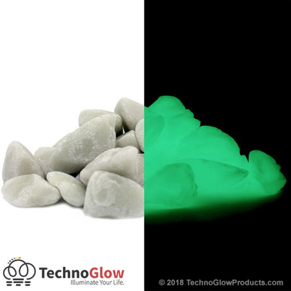 green glow in the dark rocks