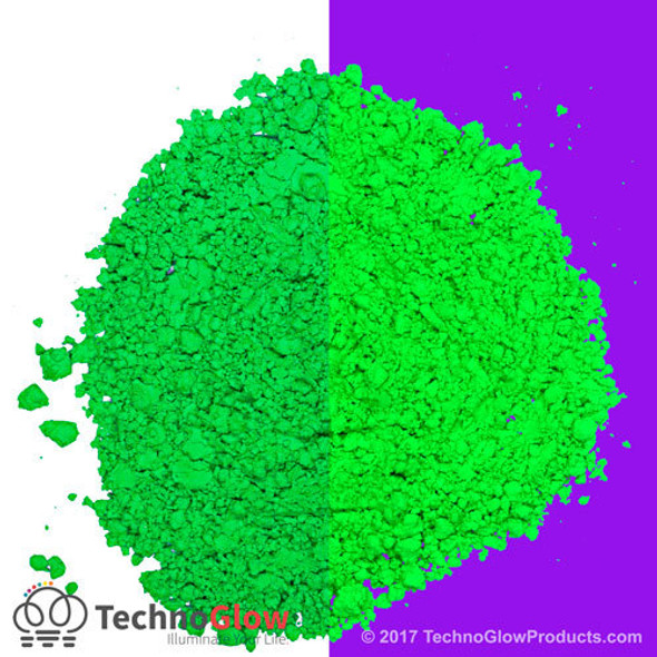 Green Fluorescent UV Powder