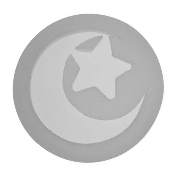 Silicone Moon & Star Jewelry Pendant Mold