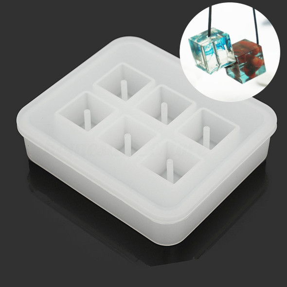 12 mm Silicone Square Shape Jewelry Beads Mold