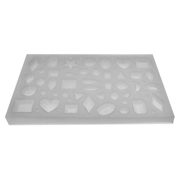 Silicone Gem Jewelry Tray Mold