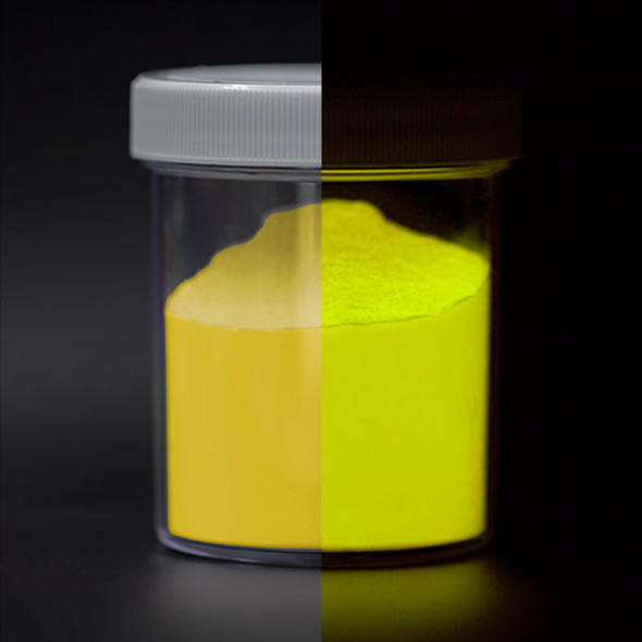 Fluorescent UV Yellow Glow Powder Pigment