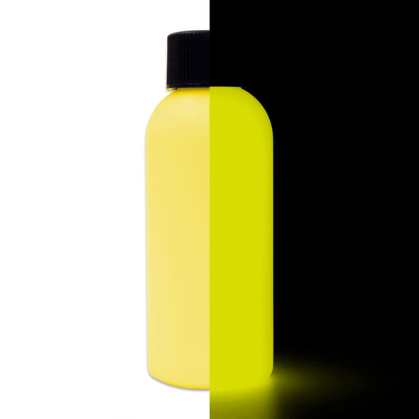 yellow glow in the dark paint
