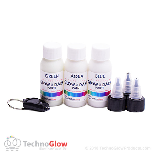 Phosphorescent Paint Kit