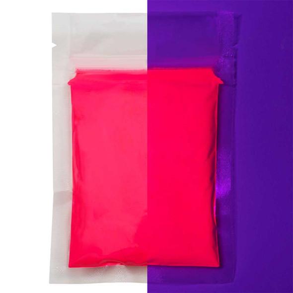 pink fluorescent powder