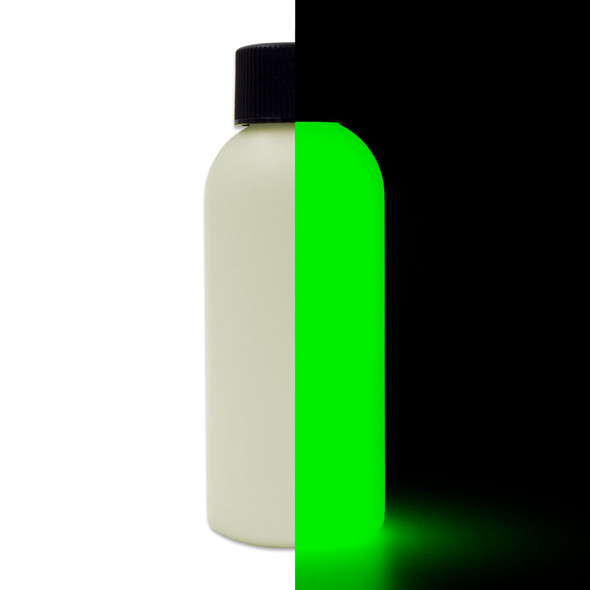 brightest glow in the dark paint