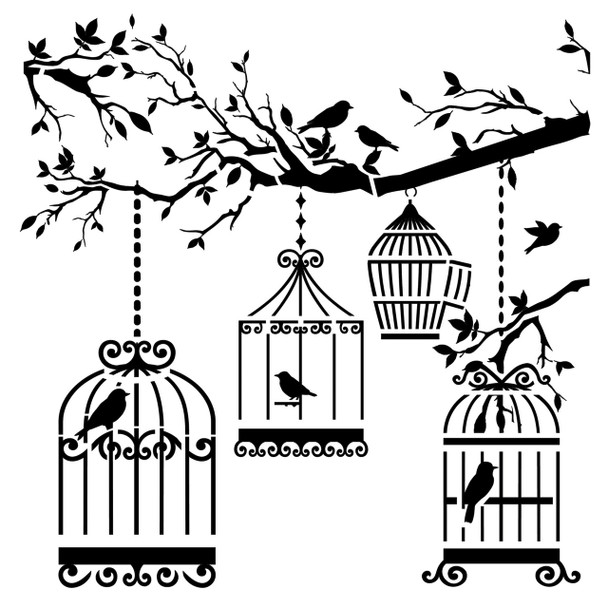 Birds of a Feather Design Template