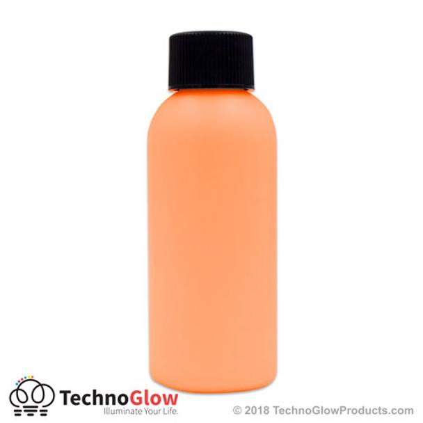 luminescent paint orange