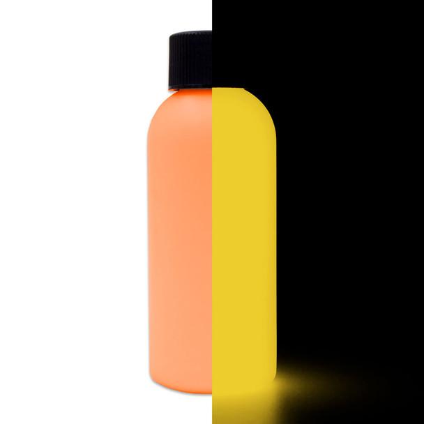 orange to gold glow in the dark paint