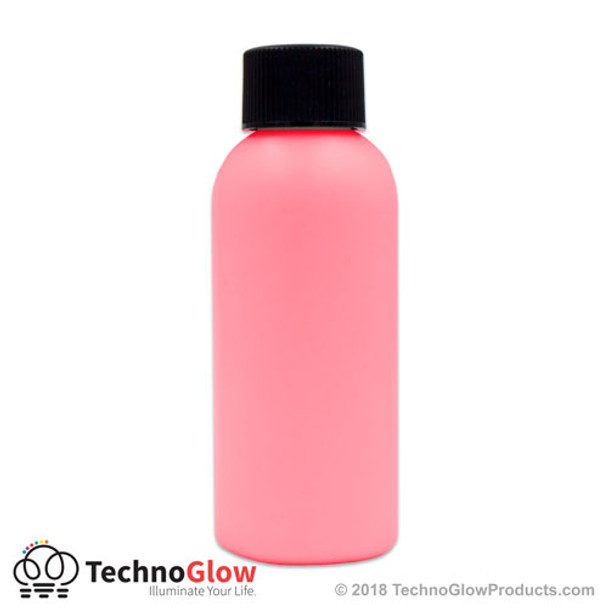 pink luminescent glow paint