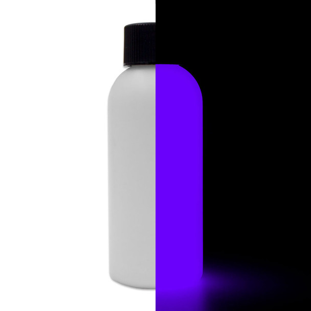 invisible purple glow paint