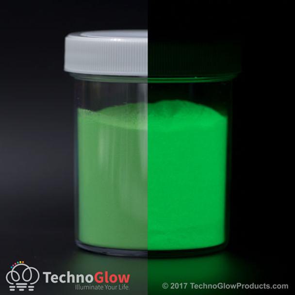 fluorescent green pigment