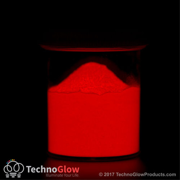 red zinc sulfide glow powder