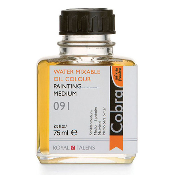 Water Mixable Oil Colour Painting Medium 2.5 fl. oz.