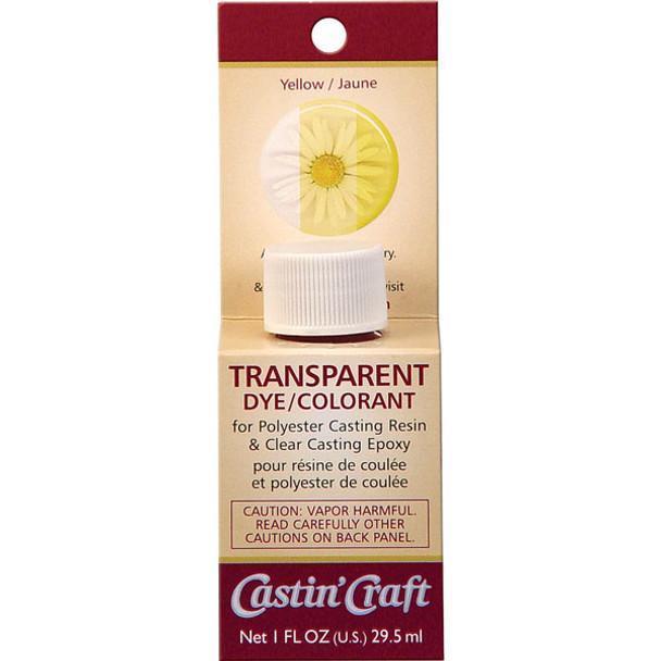 Yellow dye for resin & epoxy