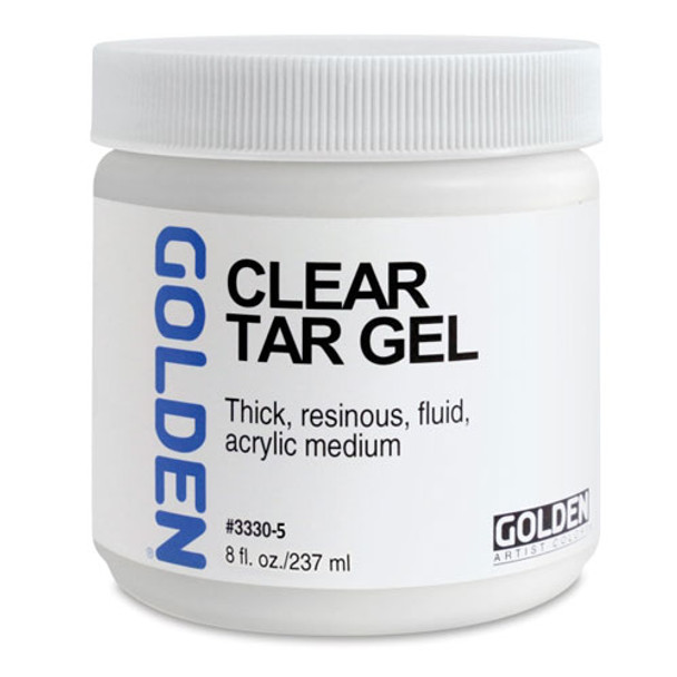 Golden Clear Tar Gel
