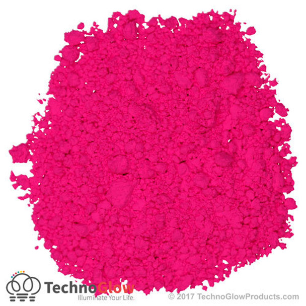 magenta fluorescent uv powder