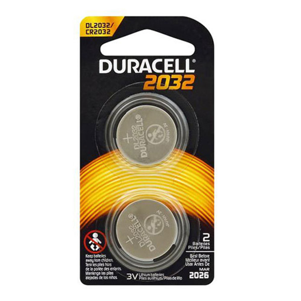 2032 3V Lithium Batteries - 2 Pack
