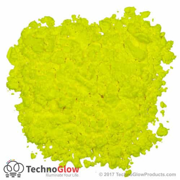Yellow Fluorescent UV Powder