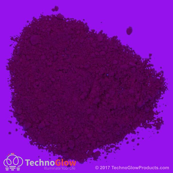 purple uv fluorescent powder