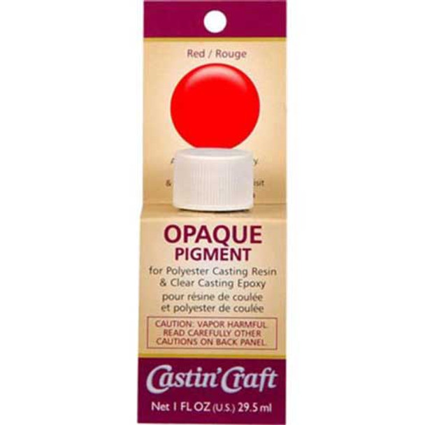 Red Dye for Resin & Epoxy - Opaque