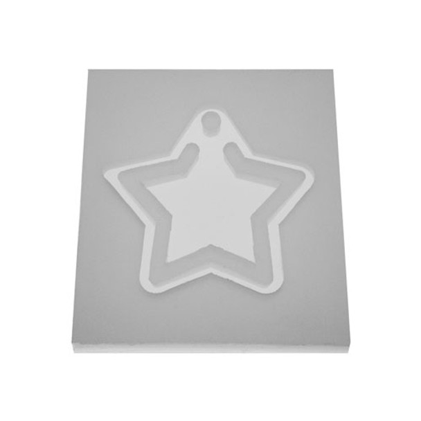 Silicone Star Jewelry Pendant Mold