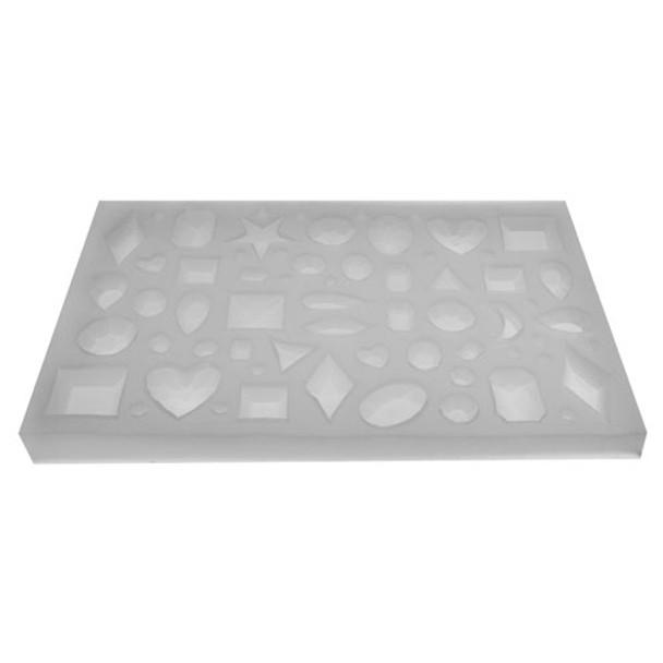 Silicone Gem Jewelry Tray Mold