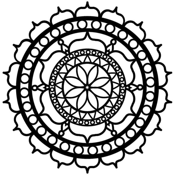 Small Rosetta Design Template