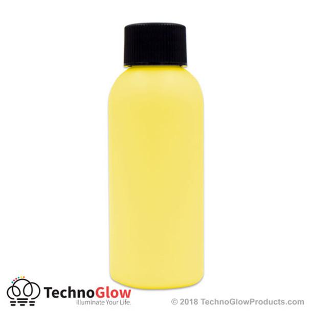 yellow luminescent paint
