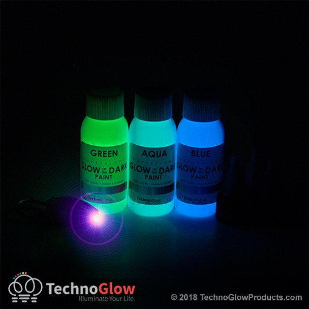 Invisible Glow in the Dark Paint