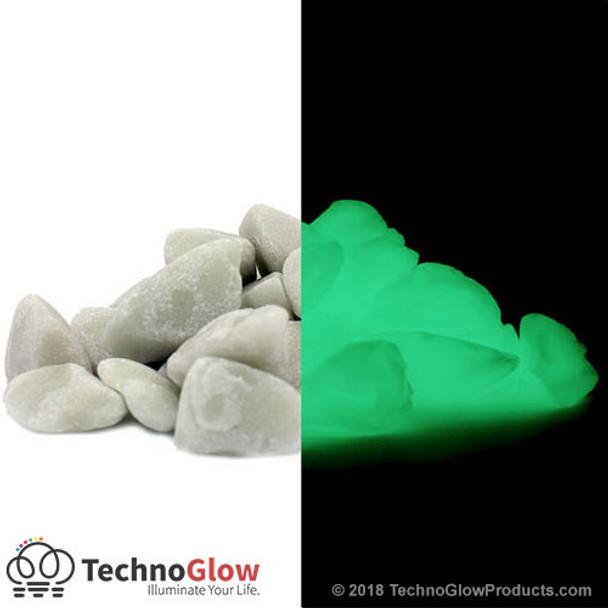 green glow in the dark rocks