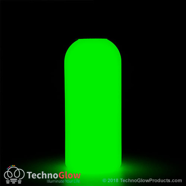 invisible green photo luminescent paint