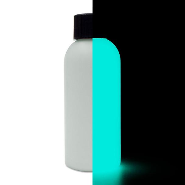 aqua glow in the dark paint