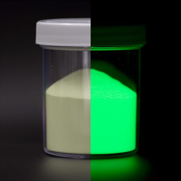 green glow in the dark powder