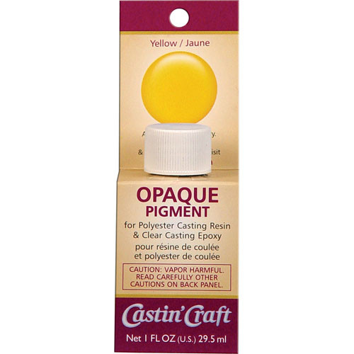 Yellow Opaque Pigment For Resin Amp Epoxy Castin Craft