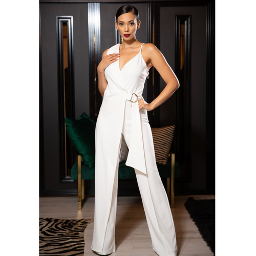 Melody Wrap Jumpsuit-Life style
