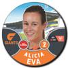 2021 AFLW Player Badge
