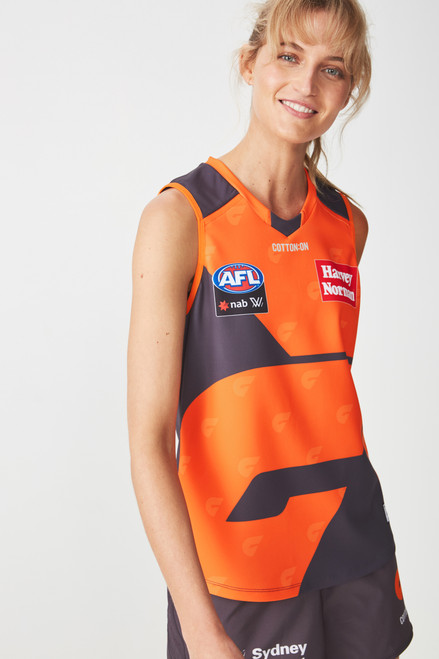 GIANTS 2019 AFLW Adult Home Guernsey